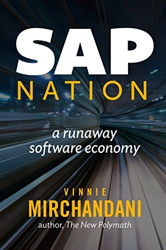 """SAP Nation: a runaway software economy:   From its humble beginnings in Germany, SAP skyrocketed to become a global powerhouse and the technology backbone for tens of thousands of enterprises. The economy around it grew even faster, and """"SAP Nation"""" now approaches the GDP of Ireland in size. This book documents both trajectories, based on decades of research and interviews of hundreds of customers, market analysts and competitors. SAP's influence has declined in the last decade, as ent..."""