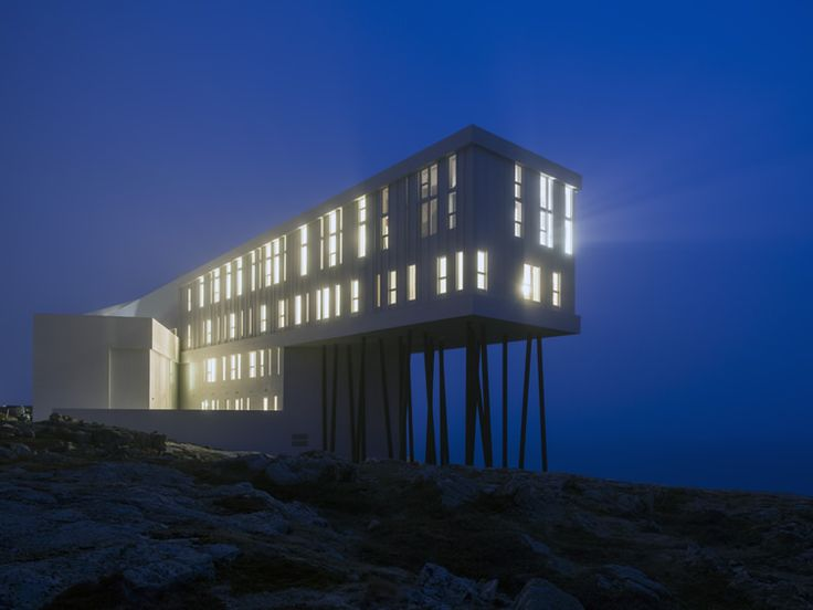 Fogo Island Inn by Saunders Architecture and Sheppard Case Architects