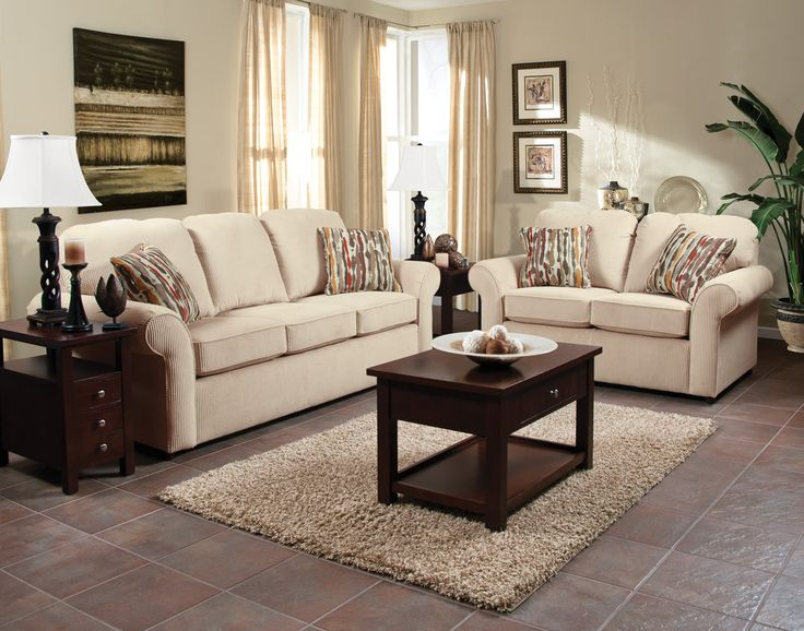 England Furniture 2400 With Esprit Buckwheat And Kerala Spice Fabrics