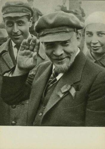 Владимир Ленин на закладке памятника «Освобожденный труд», 1 мая 1920, г. Москва