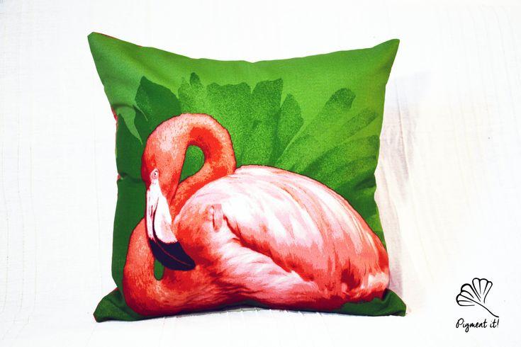 Housse, Coussin - Flamant Rose- Flamingo - Pillows- Cover- Home Deco - de la boutique Pigment it! sur Etsy