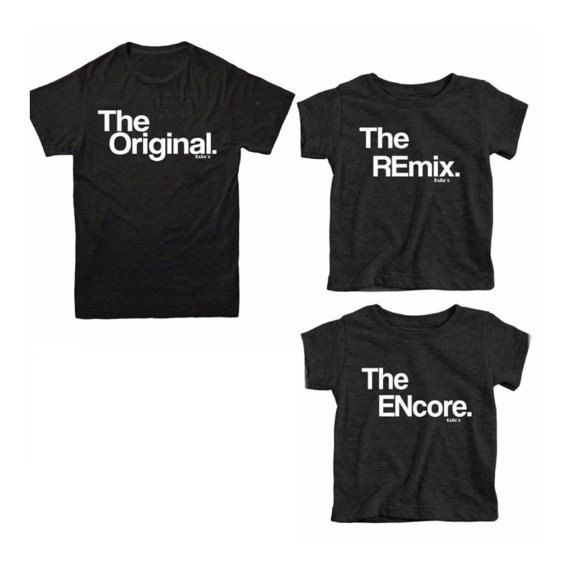 Mommy and Me Matching Outfit | Matching Mother Daughter Outfit | The Original & The Remix | MOTHER and DAUGHTER Matching Shirts | Mom Life T