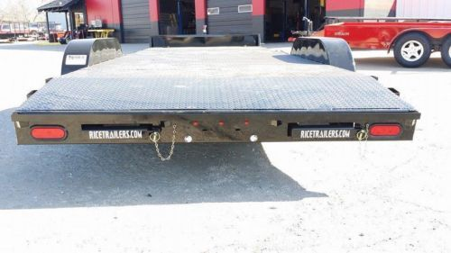 NEW Steel 82 x 20 Car Hauler Flatbed Trailer, 5200 Powder Coated  #Tulsa #brokenarrow #hitchit #trailersales #trailer ONLY Northeast Oklahoma Trailer Dealers for Lark, Haulmark, Rice and Big Tex Trailers!  Hitch It Trailers, Parts, Service & Truck Accessories 305 W. Kenosha, Broken Arrow, OK 74012 918-286-7900 www.HitchItBA.com www.facebook.com/hitchit www.facebook.com/tulsatrailersales
