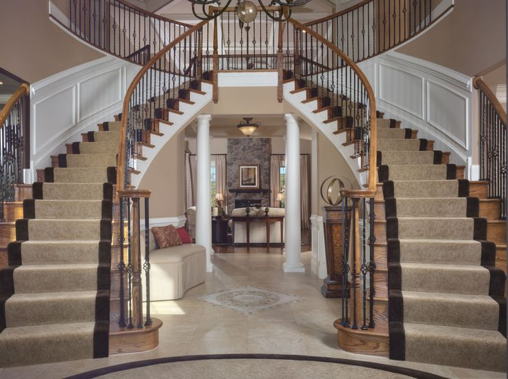 Luxury Entry Foyer | Interiors By Donna Hoffman
