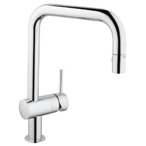Grohe 32322 Minta Single Handle U Spout Sink Tap with Pull-out Spray Tap: Amazon.co.uk: DIY & Tools