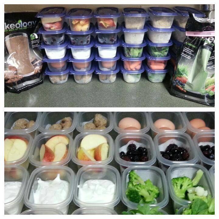 21 Day Fix Food Prep