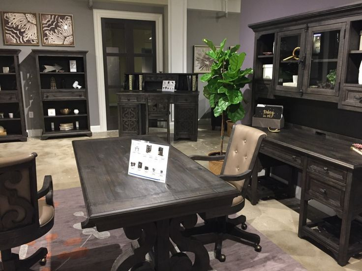 New deep weathered pine office furniture collection at RC Willey  Would  this fit well in. 44 best Office Desks images on Pinterest