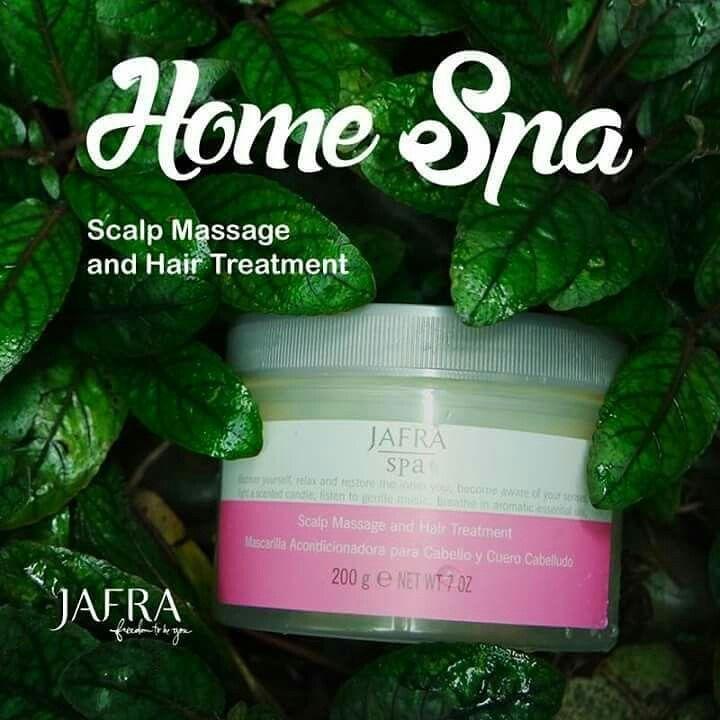 Masalah rambut dan kulit kepala? Jauh-jauh deh dengan JAFRA Scalp Massage and Hair Treatment. Home spa bisa dengan mudah di rumah.  #jafrascalpmassageandhairtreatment dpt mengatasi masalah kerontokan, ketombe dll