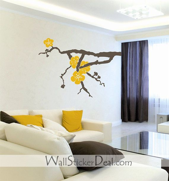 255 best Flower Wall Decals images on Pinterest