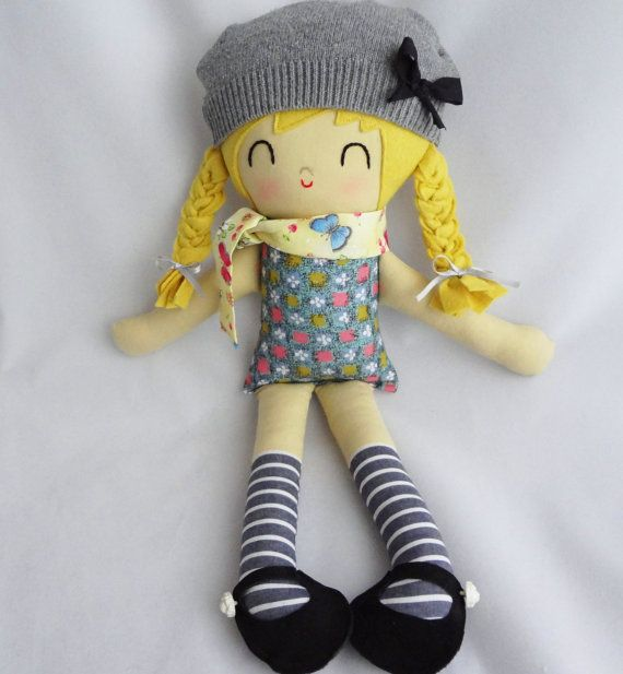 Lovely hand made dolls by Warm Sugar