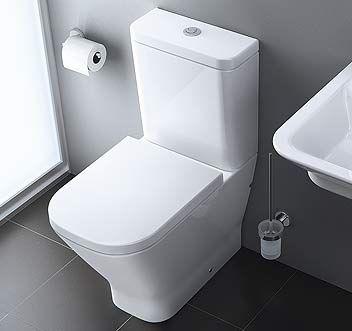 WC Roca posé Clean-Rim The Gap