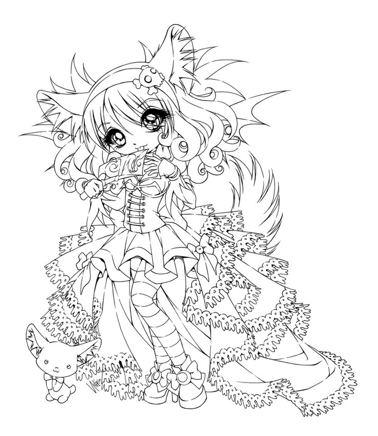 50 best images about copic jade dragonne deviant on - Coloriage chibi ...