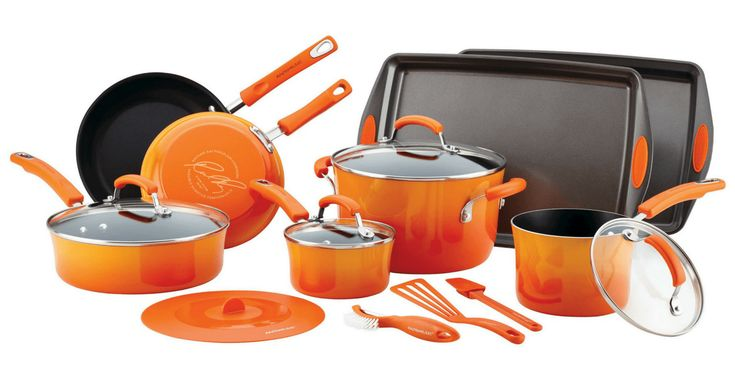 UNBELIEVABLE! Rachael Ray 16-Piece Cookware Set -- 70¢!!! (Was $189.99) RUNNN!!! - http://yeswecoupon.com/unbelievable-rachael-ray-16-piece-cookware-set-70%c2%a2-was-189-99-runnn/?Pinterest  #Clearance, #Couponcommunity, #Couponfamily, #Yeswecoupon