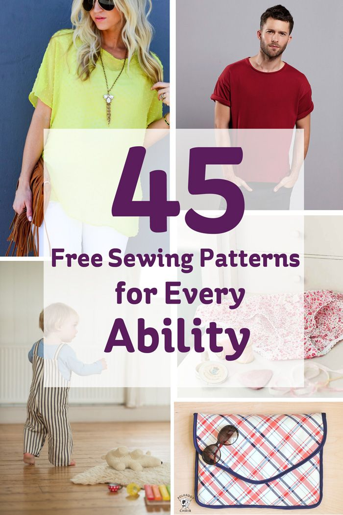 We're feeling so inspired by the new series of Sewing Bee that we just keep looking up new items to make for our wardrobes, and we're sure we're not the only ones! Whether you're advanced or a complete beginner, there's a project you can make that will suit your tastes and budget. Take a look below for some ideas to get you started!
