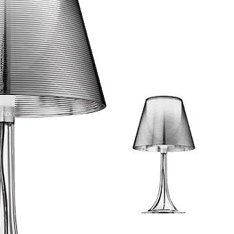 Flos Miss K by Philippe Starck: Shades, Philippe Starck, Frames, Flos 355, Interiors, Silver Mirror, Tables Lamps, Phillip Starck, Design