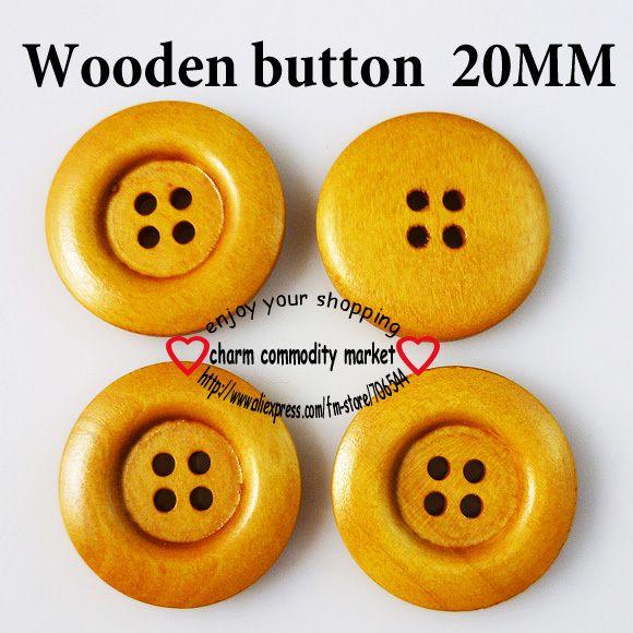 Детская одежда для фитнеса швейная кнопку 20 ММ деревянные кнопки ремесло скрапбукинга MCB-172-20
