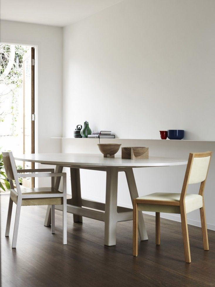 Pierre + Charlotte Table and Chairs | Remodelista