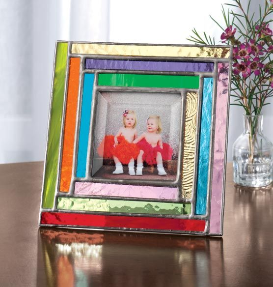 22 Best Stained Glass Picture Frame Images On Pinterest Glass