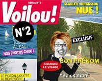 Voilou 2 : le magazine People - carte virtuelle humoristique personnalisable