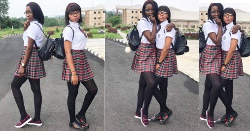 Students Of Ekiti State University Dress Up As Korean High School Girls For Their Costume Day [photos] http://ift.tt/2vYTWfu