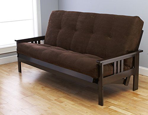 "Queen Size ""Montreal"" Espresso Futon Frame w/ 8 Inch Innerspring Mattress Sofa Bed Modern Futons (Chocolate Mattress w/Frame)  http://www.furnituressale.com/queen-size-montreal-espresso-futon-frame-w-8-inch-innerspring-mattress-sofa-bed-modern-futons-chocolate-mattress-wframe/"