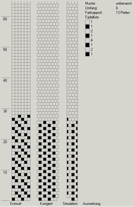 Schlauchketten häkeln - Musterbibliothek: pat_bcr_33_gd