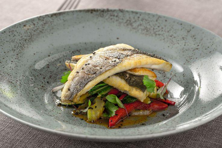Zanderfilet mit Zucchini und Fenchel