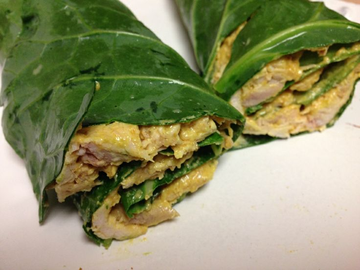 Curry Chicken Wraps #NaturallyKristina