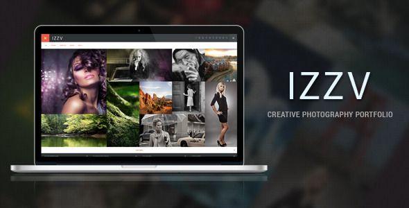 Izza - Responsive Photography Portfolio WP Theme