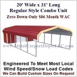 Pin On Carport With Storage