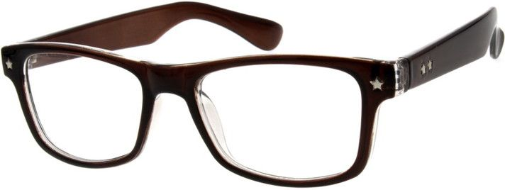Order online, unisex brown full rim acetate/plastic wayfarer eyeglass frames model #820415. Visit Zenni Optical today to browse our collection of glasses and sunglasses.