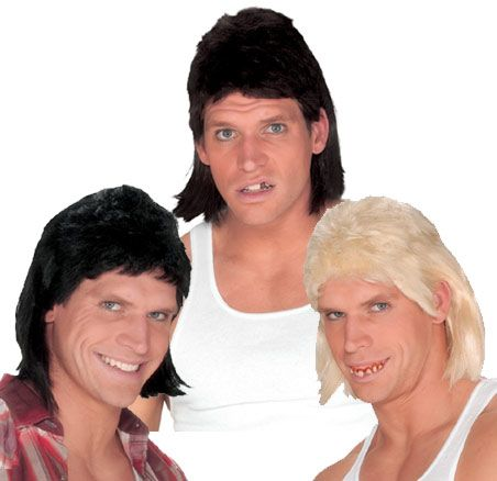 Cool Costume Accessories Mullet Wig just added...