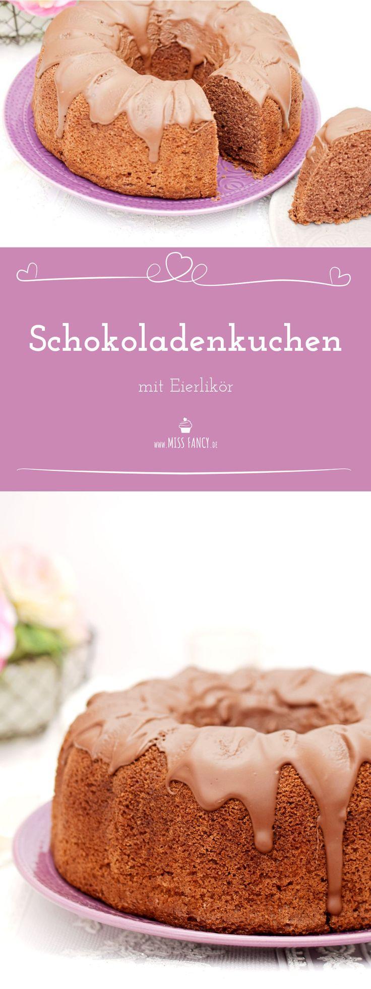 Leckerer Schokoladen-Eierlikör-Kuchen für dich :-)