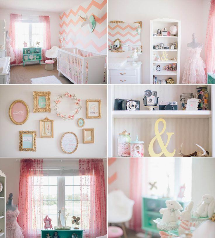 Girls Room Decor Ideas Bright Makeover Aqua Teal Lighting