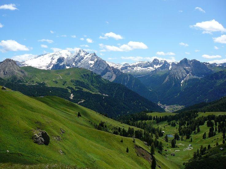 SELLA con MARMOLADA e CANAZEI - Trentino, Italy.