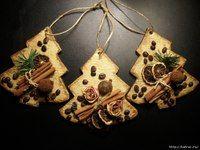 ароматные новогодние елочки