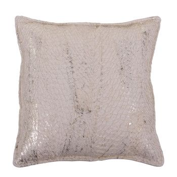 ethical fish leather cushion by MUMO
