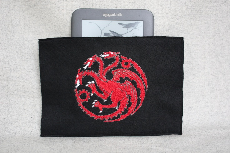 Game of Thrones kindle holder for my friend