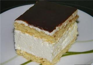 Authentic Russian Bird's Milk cake recipe