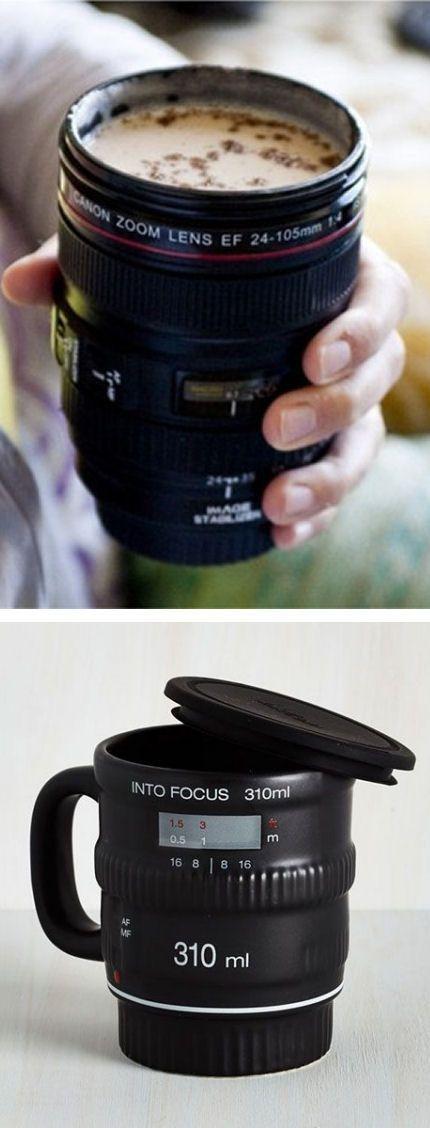 Camera Lens Coffee Mug ❤