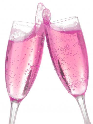 Rosa bubbel