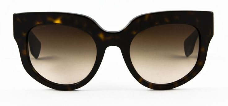 #loveyewear #prada http://www.loveyewear.se/solglasogon/prada-pr-07qs1-2au6s1-brun/