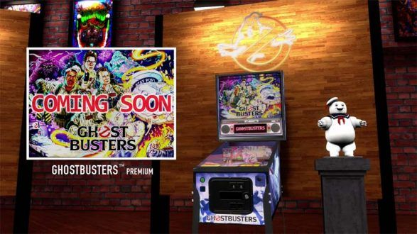 Ghostbusters DLC coming to Stern Pinball Arcade video game