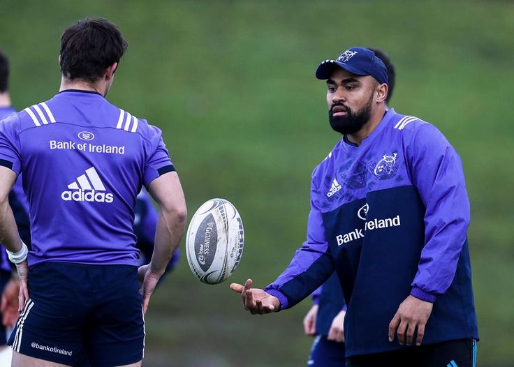 Francis Saili returns to the Munster matchday squad being named among the replacements for the St. Stephen's Day clash against Leinster Rugby.