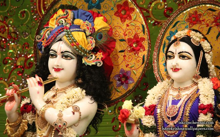 To view Radha Krishna Close Up  Wallpaper of ISKCON Chennai in difference sizes visit - http://harekrishnawallpapers.com/sri-sri-radha-krishna-close-up-iskcon-chennai-wallpaper-011/