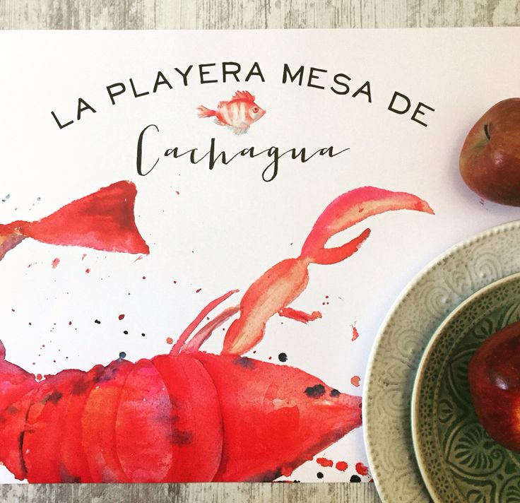Sea summer placemats designed for Feria de Cachagua for next week