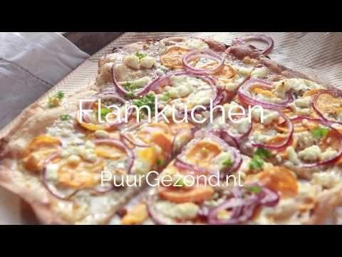 PuurGezond: Video: hoe maak je flamkuchen?