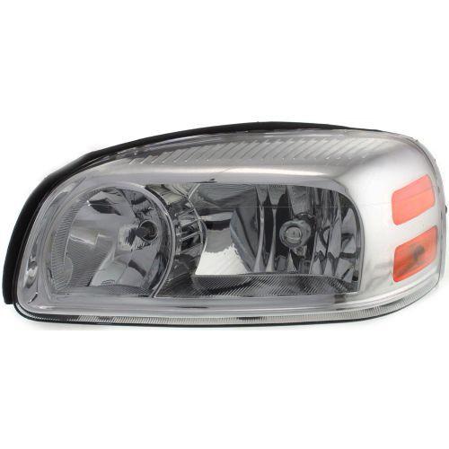 2005-2009 Chevy Uplander Head Light LH, Composite, Assembly, Halogen