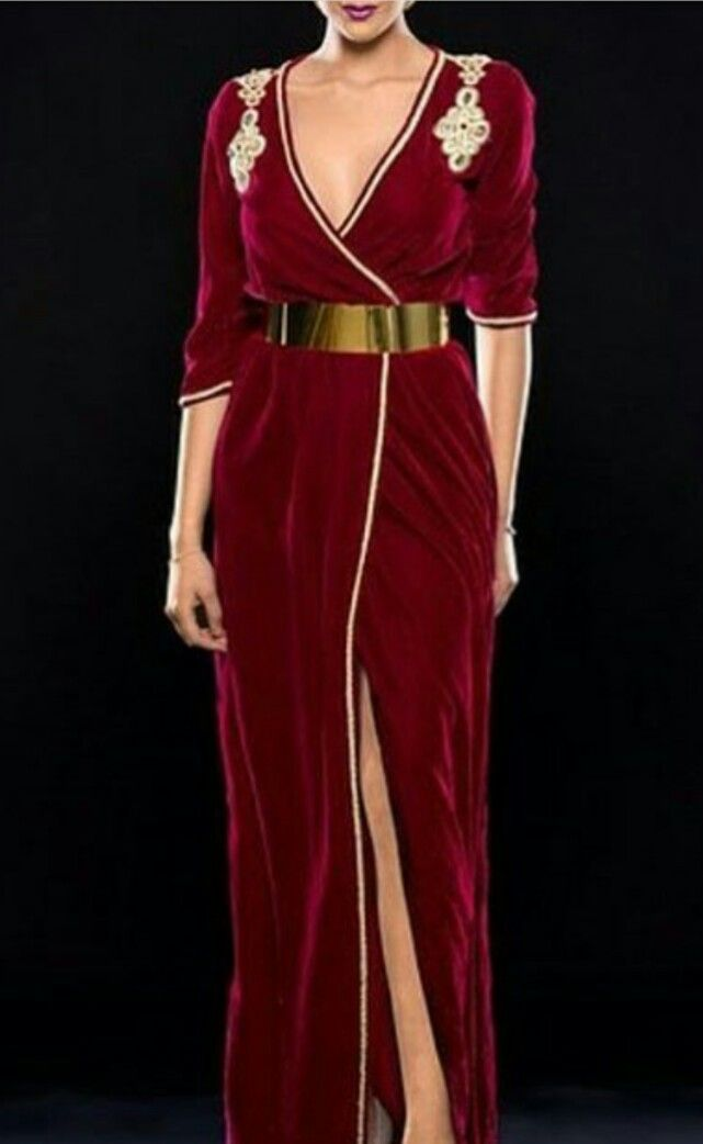 Caftans Rouge Mopra chic