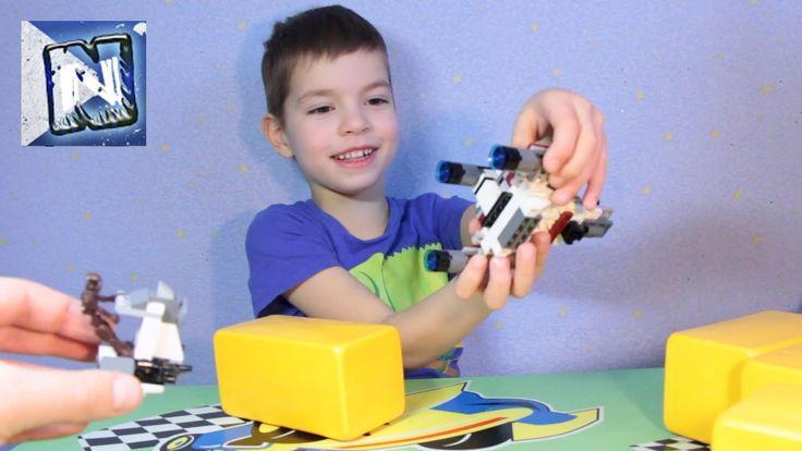 Лего Звездные войны - набор 3 lego brickmaster star wars - Desert Attac...